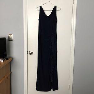 Navy Ralph Lauren Evening Gown